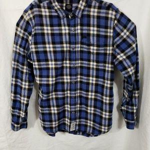 MEN'S  HARLEY DAVIDSON  flannel shirt.